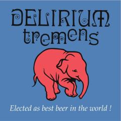 Delirium Tremens 4x33cl + klaas