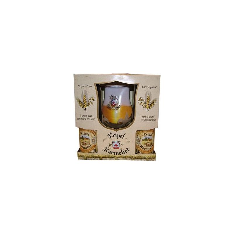 Karmeliet Tripel 4x33cl + 1 Klaas