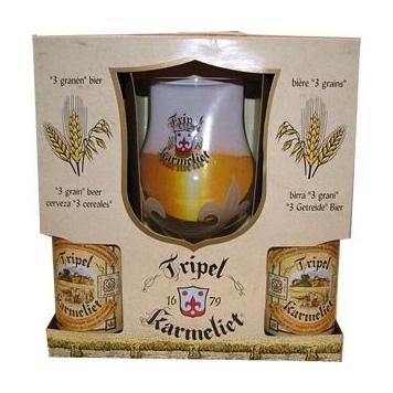 Karmeliet Tripel 4x33cl + Klaas