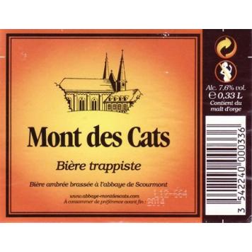 Mont des Cats 33cl