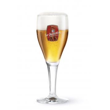 La Guillotine beer glass