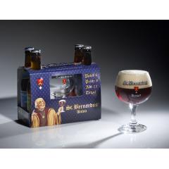 St. Bernardus komplekt 4x33cl + klaas